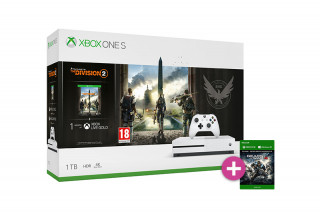 Xbox One S 1TB + The Division 2 + Gears of War 4 XBOX ONE