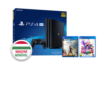 PlayStation 4 Pro (PS4) 1TB + Assassin's Creed Odyssey + Just Dance 2019 PS4