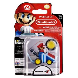 NINTENDO - Coin Racers - Mario figura (7cm) Ajándéktárgyak