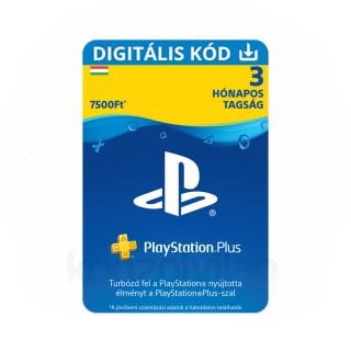 PlayStation Plus kártya 3 hónapos (PSN Plus) 30% kedvezménnyel (DIGITÁLIS) (Letölthető) PS4