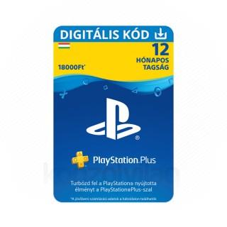 PlayStation Plus kártya 12 hónapos (PSN Plus) 30% kedvezménnyel (DIGITÁLIS) (Letölthető) PS4