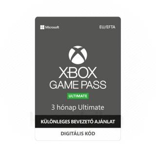 Xbox Game Pass Ultimate 3 hónapos előfizetés – bevezető ajánlat (DIGITÁLIS KÓD) (Letölthető) XBOX ONE
