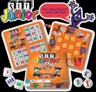 Set! junior kártyajáték Ajándéktárgyak