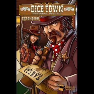Dice Town: Wild West kiegészítõ Ajándéktárgyak