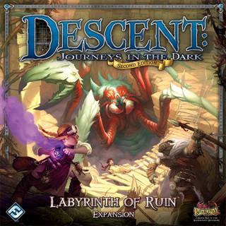 Descent 2nd edition - Labyrinth of Ruin kiegészítő Ajándéktárgyak
