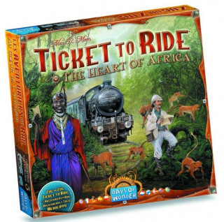 Ticket to Ride Map Collection 3: The Heart of Africa Ajándéktárgyak