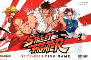 CapCom Street Fighter Deck-Building Game (angol nyelvű) AJÁNDÉKTÁRGY