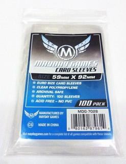 Mayday standard EU kártyavédö (sleeve) - 59*92 mm (100 db/csomag) Ajándéktárgyak
