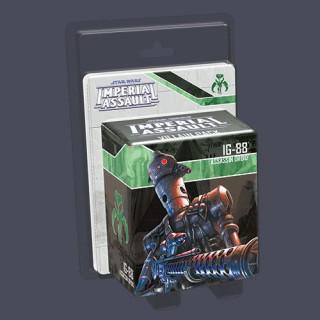Star Wars: Imperial Assault - IG-88 Villain Pack Ajándéktárgyak
