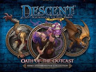 Descent 2nd Edition - Oath of the Outcast kiegészítõ Ajándéktárgyak