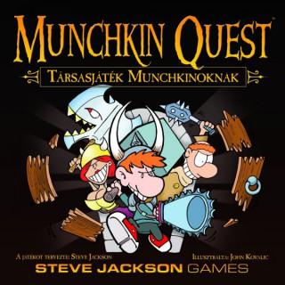 Munchkin Quest - Társasjáték Munchkinoknak Ajándéktárgyak