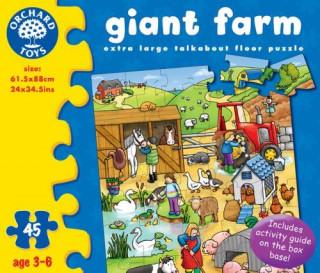 OR284 Farm óriás puzzle Ajándéktárgyak