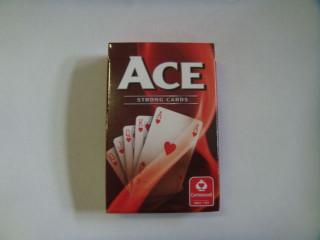 ACE szimpla bridge kártya, piros Ajándéktárgyak