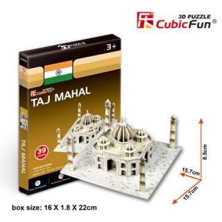 3D puzzle - Taj Mahal 39 db-os Ajándéktárgyak
