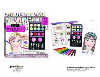 Fashion Angels haj és smink tervezõ 6611 Ajándéktárgyak