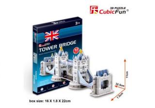 3D puzzle - Tower Bridge 32 db-os Ajándéktárgyak