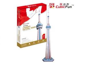 3D puzzle National Tower Canada 48 db-os Ajándéktárgyak