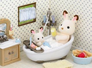 Sylvanian Families - Fürdőszoba szett 1 Ajándéktárgyak