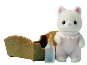 Sylvanian Families - Selyem cica bébi  Ajándéktárgyak