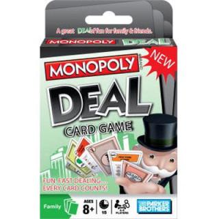 Monopoly Deal Kártyajáték Ajándéktárgyak