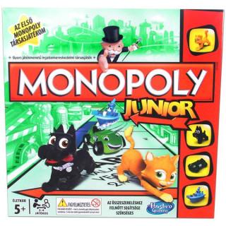 Monopoly Junior Party társasjáték Ajándéktárgyak