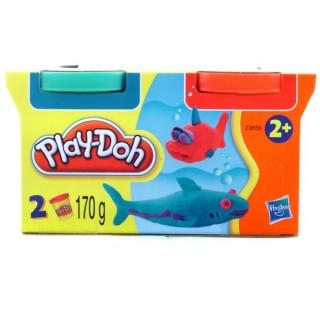 Play-Doh 2 tégelyes utántöltõ gyurma készlet - sárga-rózsaszín Ajándéktárgyak