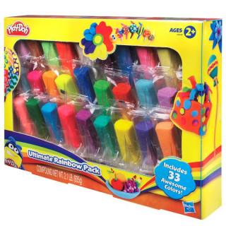 Play-Doh 33 db-os zacskós utántöltõ gyurma készlet Ajándéktárgyak