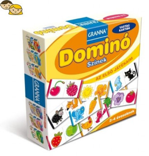 Az elsõ játékaim Domino - Szinek Ajándéktárgyak