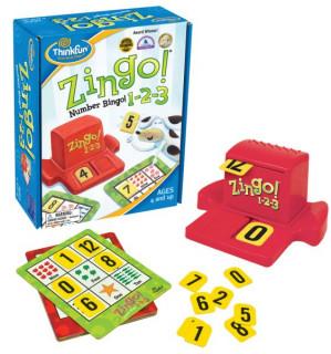 Zingo! 1-2-3 Ajándéktárgyak