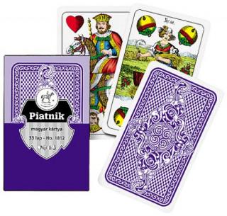 Magyar kártya, kék hátoldalú Ajándéktárgyak