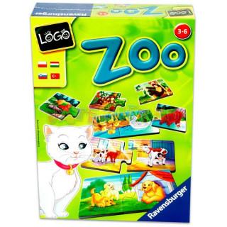 Ravensburger Logo Zoo: állatok és kölykeik  Ajándéktárgyak