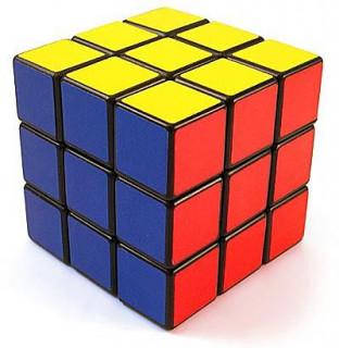 Rubik kocka 3x3X3 kék dobozos Ajándéktárgyak