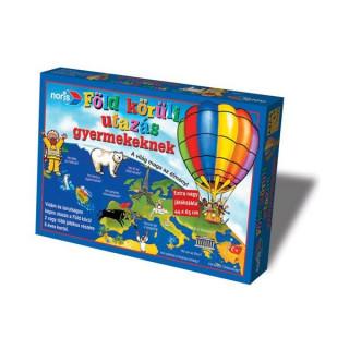 Föld körüli utazás gyermekeknek társasjáték - Noris Ajándéktárgyak