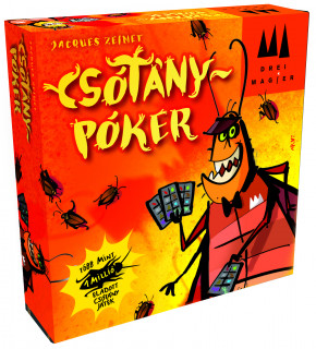 Csótánypóker Ajándéktárgyak