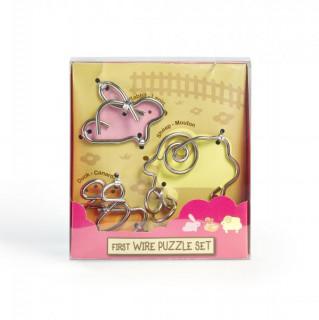 First Wire Puzzle Szett - Állatok 1. Ajándéktárgyak