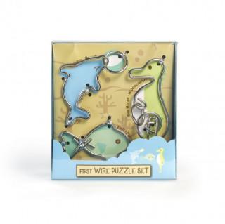 First Wire Puzzle Szett - Vízi állatok Ajándéktárgyak