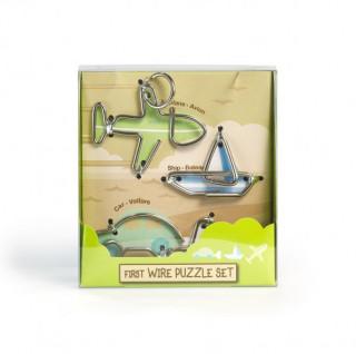 First Wire Puzzle Szett - Jármûvek Ajándéktárgyak