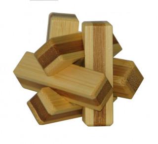 3D Bambusz puzzle - Firewood** 473130 Ajándéktárgyak