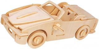 Gepetto's Workshop - Nyitott tetejû autó - 3D fapuzzle Ajándéktárgyak