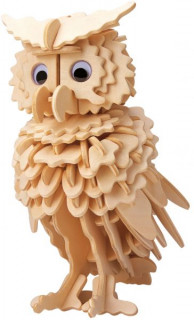 Gepetto's Workshop - Bagoly - 3D fapuzzle Ajándéktárgyak