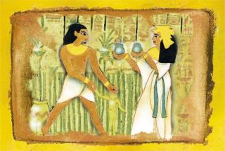 Mûvész mini puzzle 0421 - Egyiptom  Ajándéktárgyak