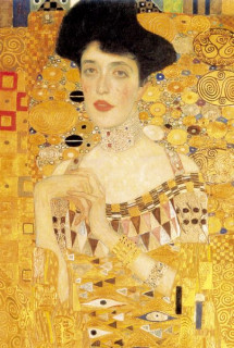 Mini mûvész puzzle 0513 - Gustav Klimt Ajándéktárgyak