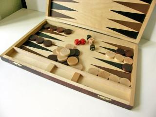 Backgammon fa (46x30cm) - 604111 Ajándéktárgyak