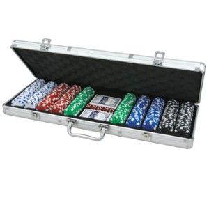 Póker zseton készlet, Dice 500db - 620945 Ajándéktárgyak