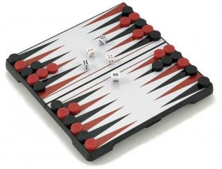 Backgammon, 16x16 cm-es, hordozható - 600502 Ajándéktárgyak