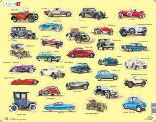 Larsen maxi puzzle 30 db-os Oldtimer autók AK1 Ajándéktárgyak