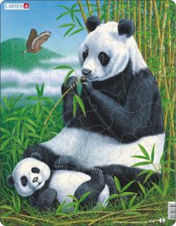 Larsen maxi puzzle 33 db-os Panda D5 Ajándéktárgyak