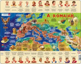 Larsen maxi puzzle 110 db-os A rómaiak (magyar nyelvû) HL4 Ajándéktárgyak