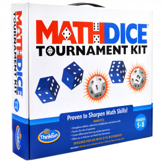 Math Dice Tournament kit Ajándéktárgyak