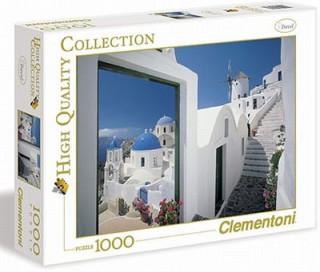 Clementoni 1000 db-os puzzle - Greece- Görögörszág Ajándéktárgyak
